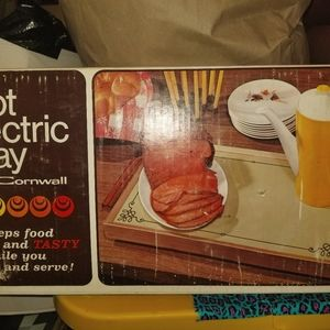 Vintage 1974 Hot Electric tray